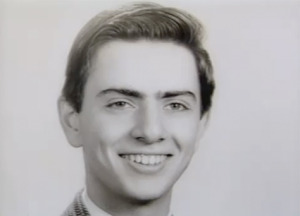 Carl Sagan's 1951 High School Graduation Photo from Rahway High School, where he was named the Male Class Brain and the Male Most Likely to Succeed