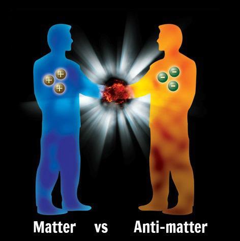 matter vs antimatter