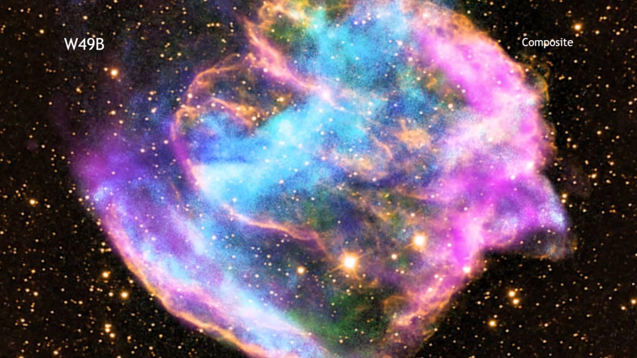 A closer look at the heart of W49B (Credit: Credit: NASA/CXC/A. Hobart)