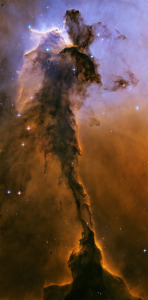 The Fairy Eagle Nebula, also located in M16 (Click For a Larger Image)