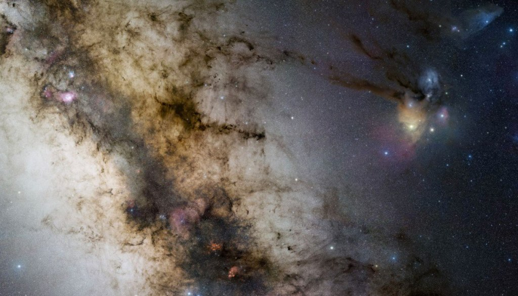 Click the image to explore our galaxy! (Credit: Stéphane Guisard/ESO/GigaGalaxy Zoom Project)