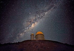 The 3.6-metre telescope at La Silla in Chile, used to detect exoplanets