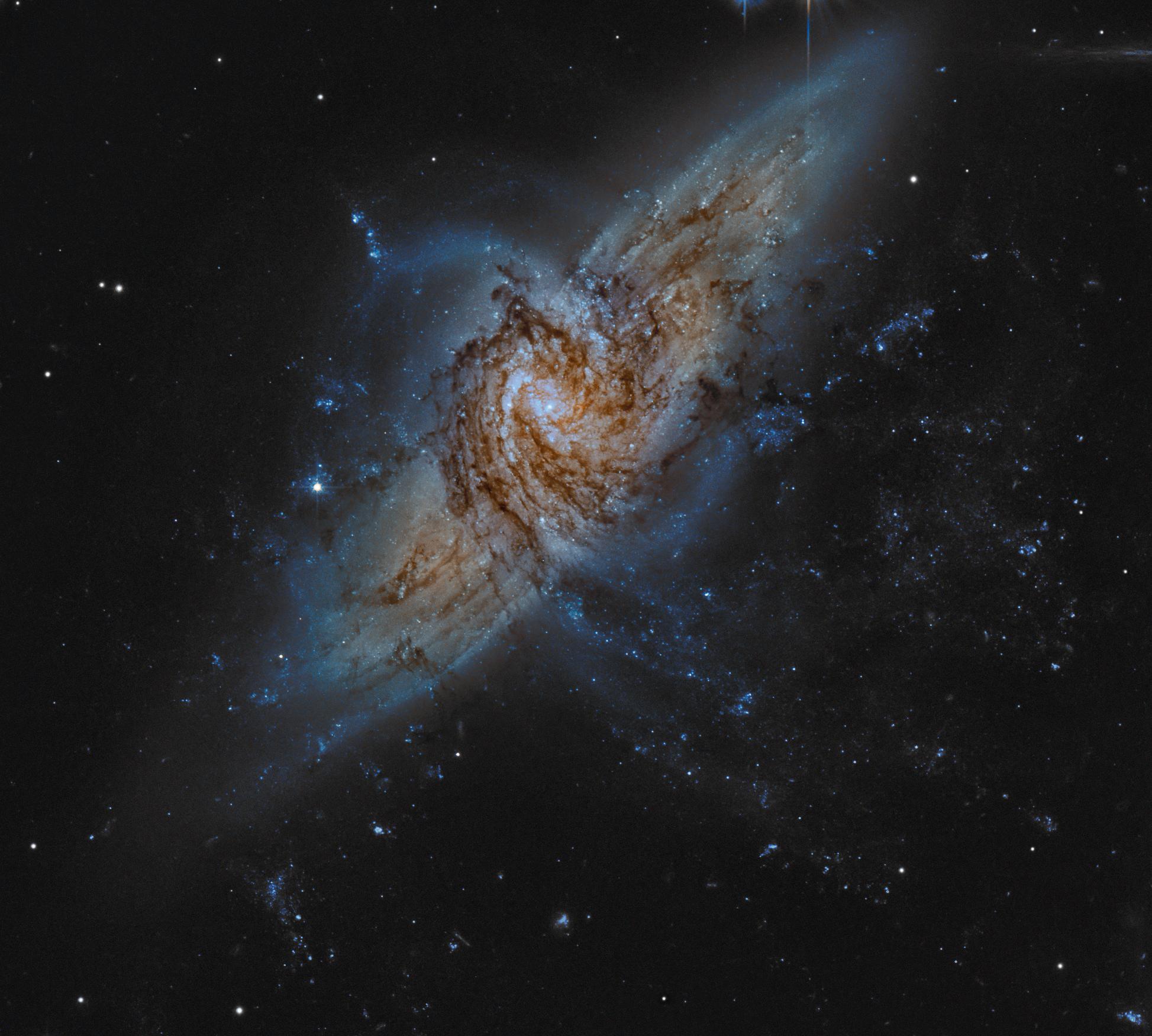 Image Credit: Hubble Legacy Archive, ESA, NASA (Processing - Martin Pugh)