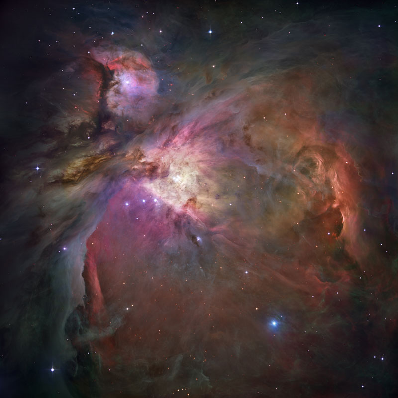 The Orion Nebula (M42), Image Credit: NASA/Hubble