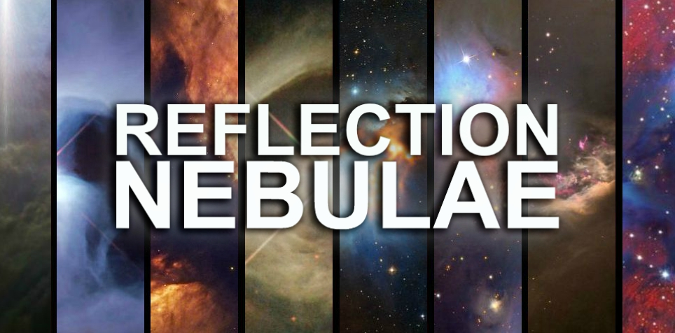 Reflection Nebulae Collage (Text)