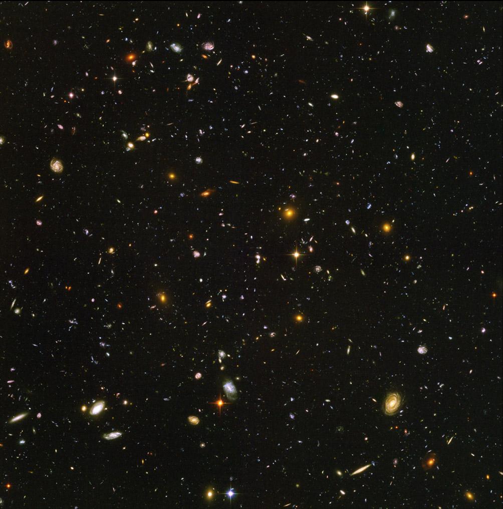 Ultra Deep Field via Hubble/NASA