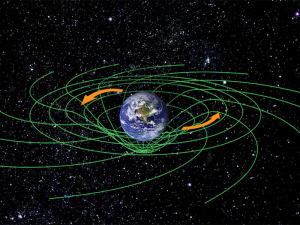 an illustration of this warping of spacetime