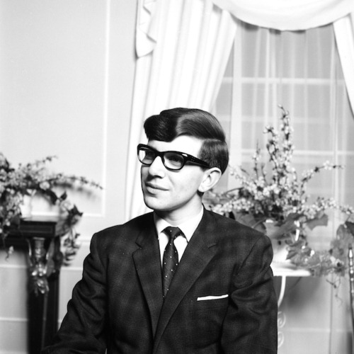 Hawking in the following year - 1963 (source)