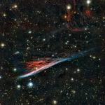 The Pencil Nebula - a supernova remnant. Image Credit: NASA