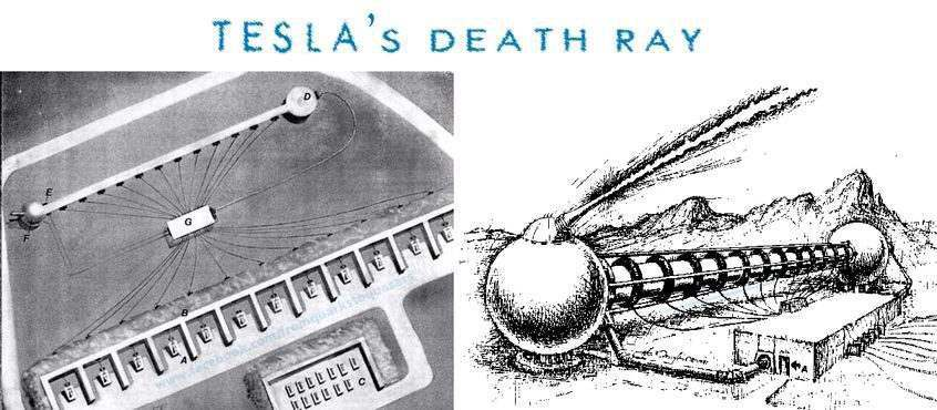 Nikola teslas death ray