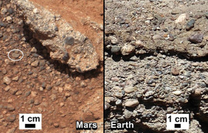 Curiosity find evidence of water on Mars. Image Credit: NASA