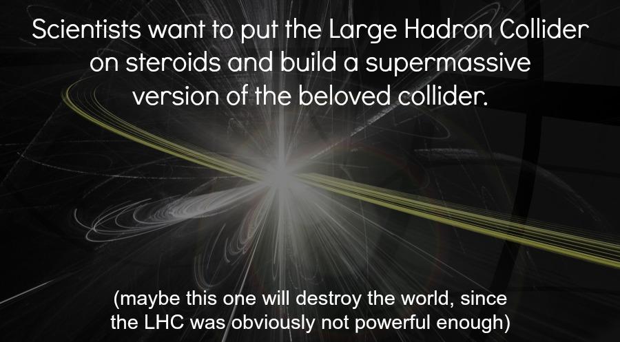LHC-collision