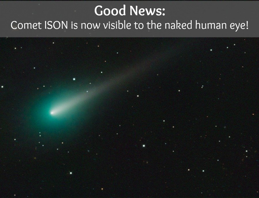 Stunning new comet could soon be visible to the naked eye