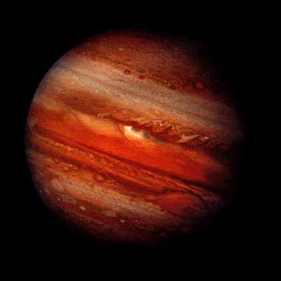 Jupiter via NASA