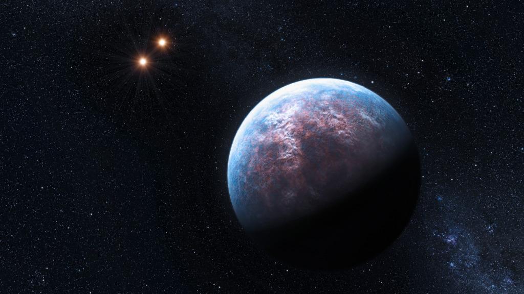 Gliese 667 via ESO/L. Calçada