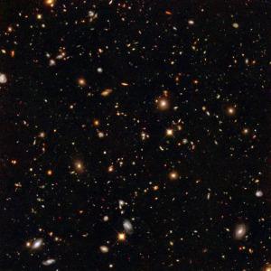 A small collection of galaxies (Credit: NASA/JPL)