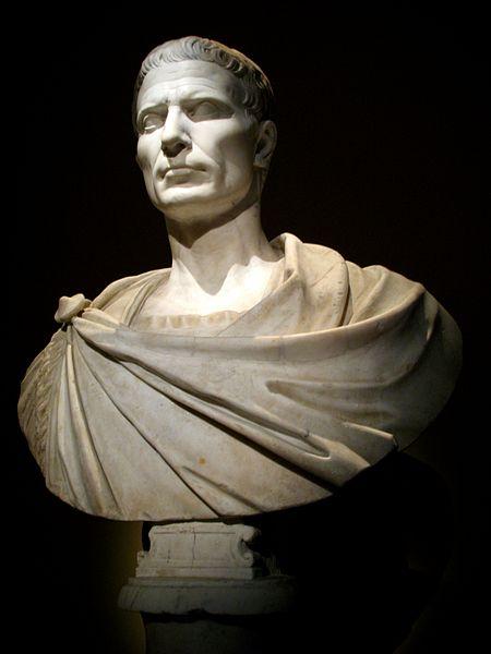 Gaius Julius Caesar, Art History Museum, Vienna, Austria (via Andrew Bossi)