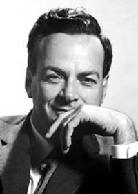 Richard Feynman via Nobel Images