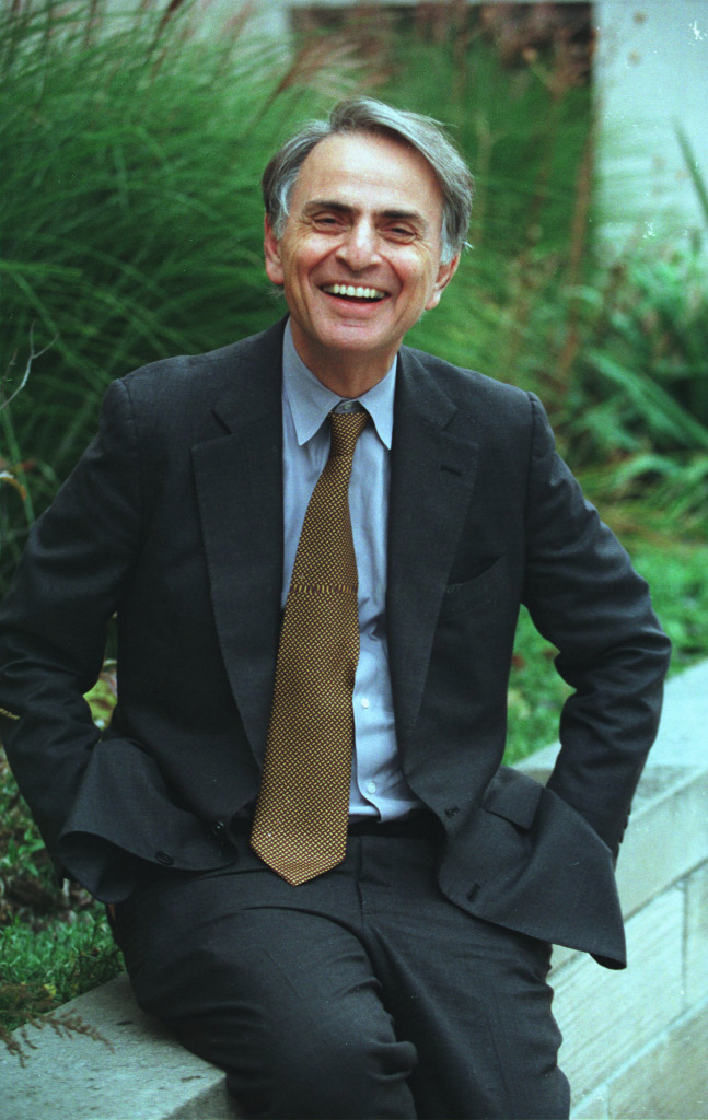 Carl Sagan November 9, 1934 – December 20, 1996 via NASA