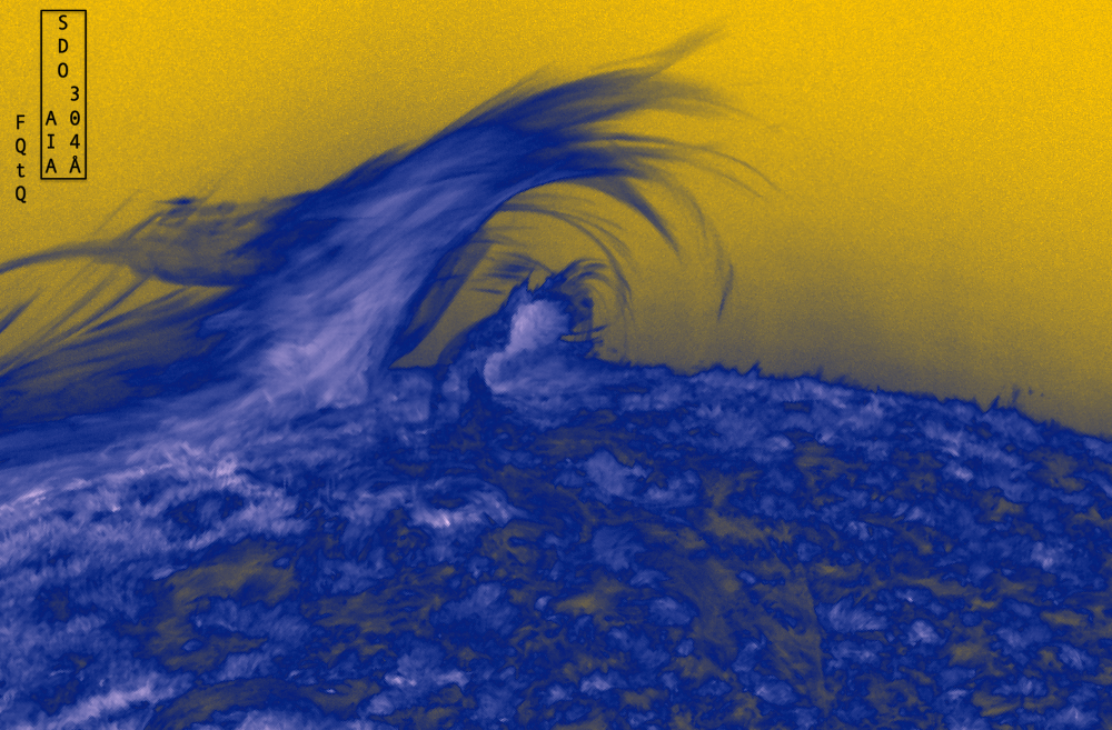 The Great Wave on the Sun