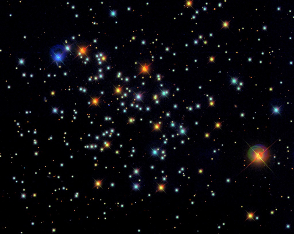 M67  (Image courtesy of the Sloan Digital Sky Survey)