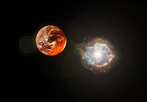 which milky way star will explode next and how will it impact earth