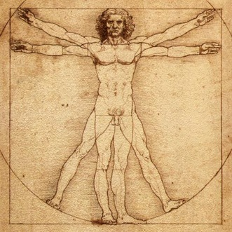 "The ""Vitruvian Man"" (By Da Vinci_"