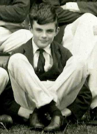 An image of Alan Turing in 1927 (From The Sherborne School Archives)