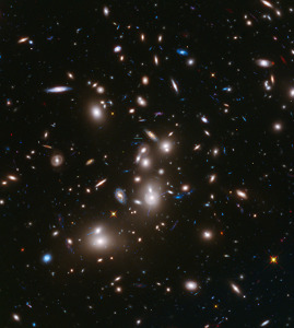 Hubble Frontier Field Abell 2744 via HubbleSite