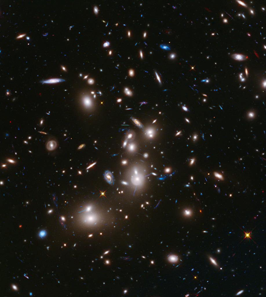 Hubble Frontier Field Abell 2744 via HubbleSite