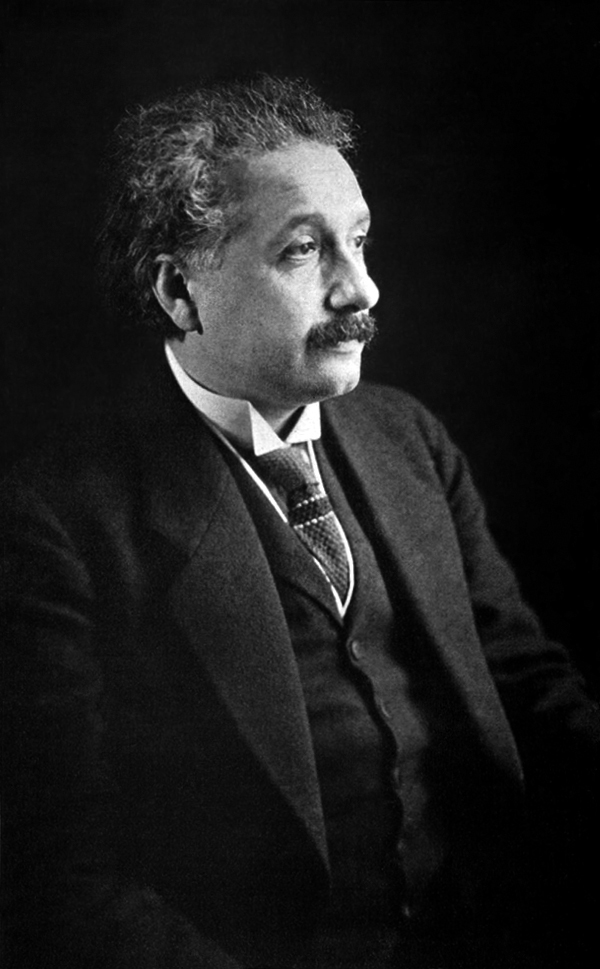 Albert Einstein via WikiMedia