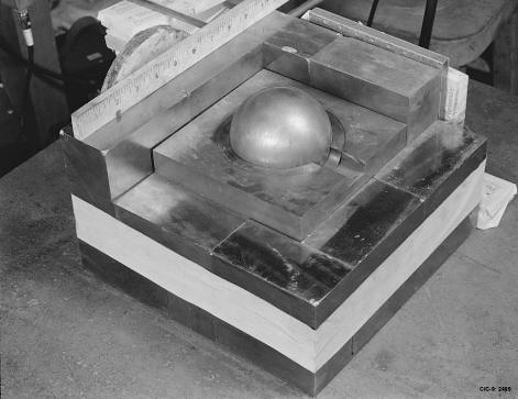 The Demon Core (Credit: Los Alamos National Laboratory) (via WikimediaCommons)