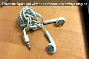 Headphones Tangled