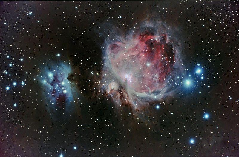 Orion nebula. Image Credit: Ljubinko Jovanovic