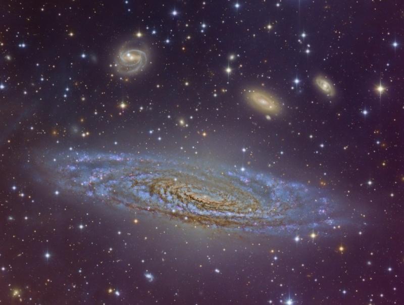 Image Credit: Vicent Peris (OAUV / PTeam), Gilles Bergond, Calar Alto Observatory.