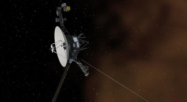 Artist impression of Voyager entering interstellar space. Credit: NASA/ JPL-Caltech