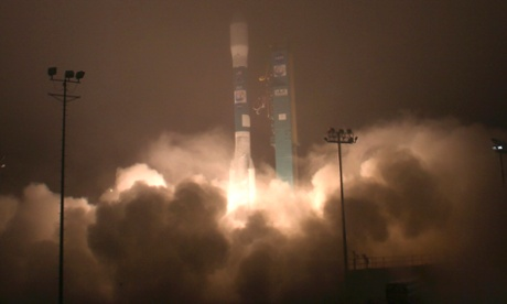 Nasa's Orbiting Carbon Observatory-2 mission (OCO-2) launches from Vandenberg air force base Image via Gene Blevins/Reuters