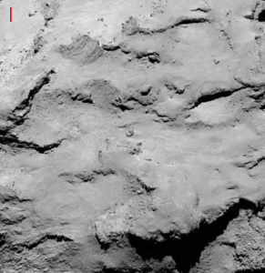 View of landing site I, as seen by Rosetta's OSIRIS camera. Image Credit: ESA