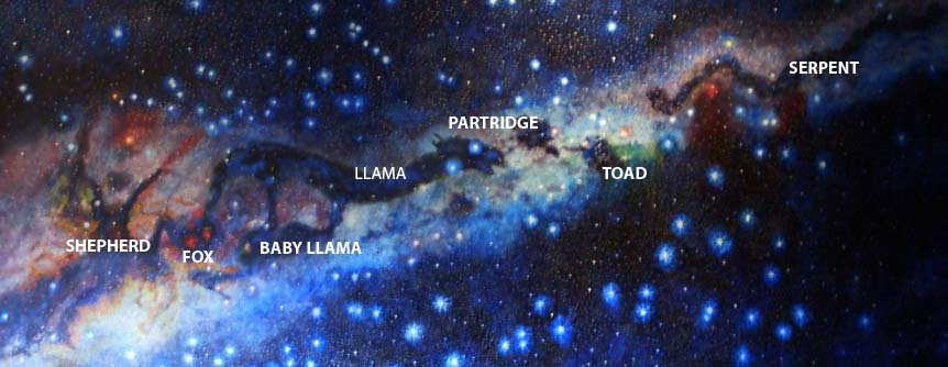 The Dark Constellations of the Incas