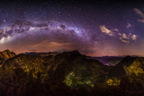 Image of the Milky Way (source)