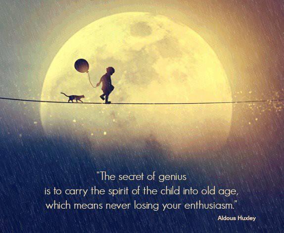 Quote via Aldous Huxley (1894–1963). Image: Diana Grigore