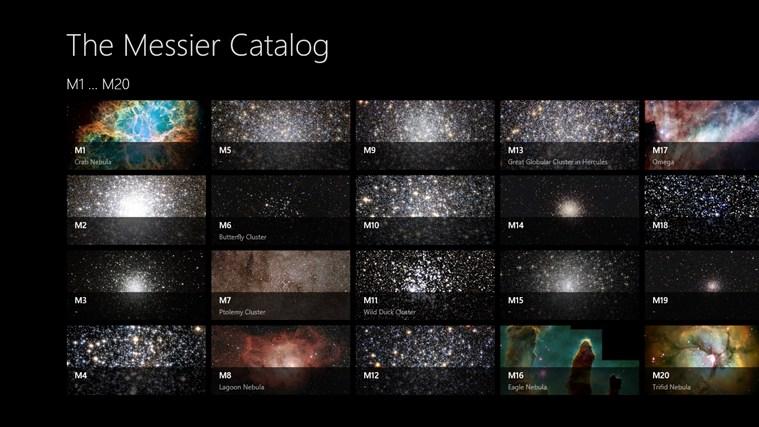 The Messier Catalog (via Source)