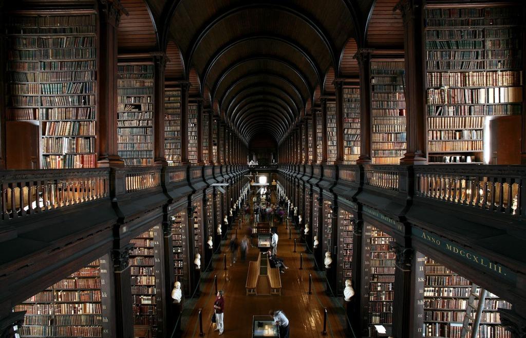 Trinity College Library via WikiMedia