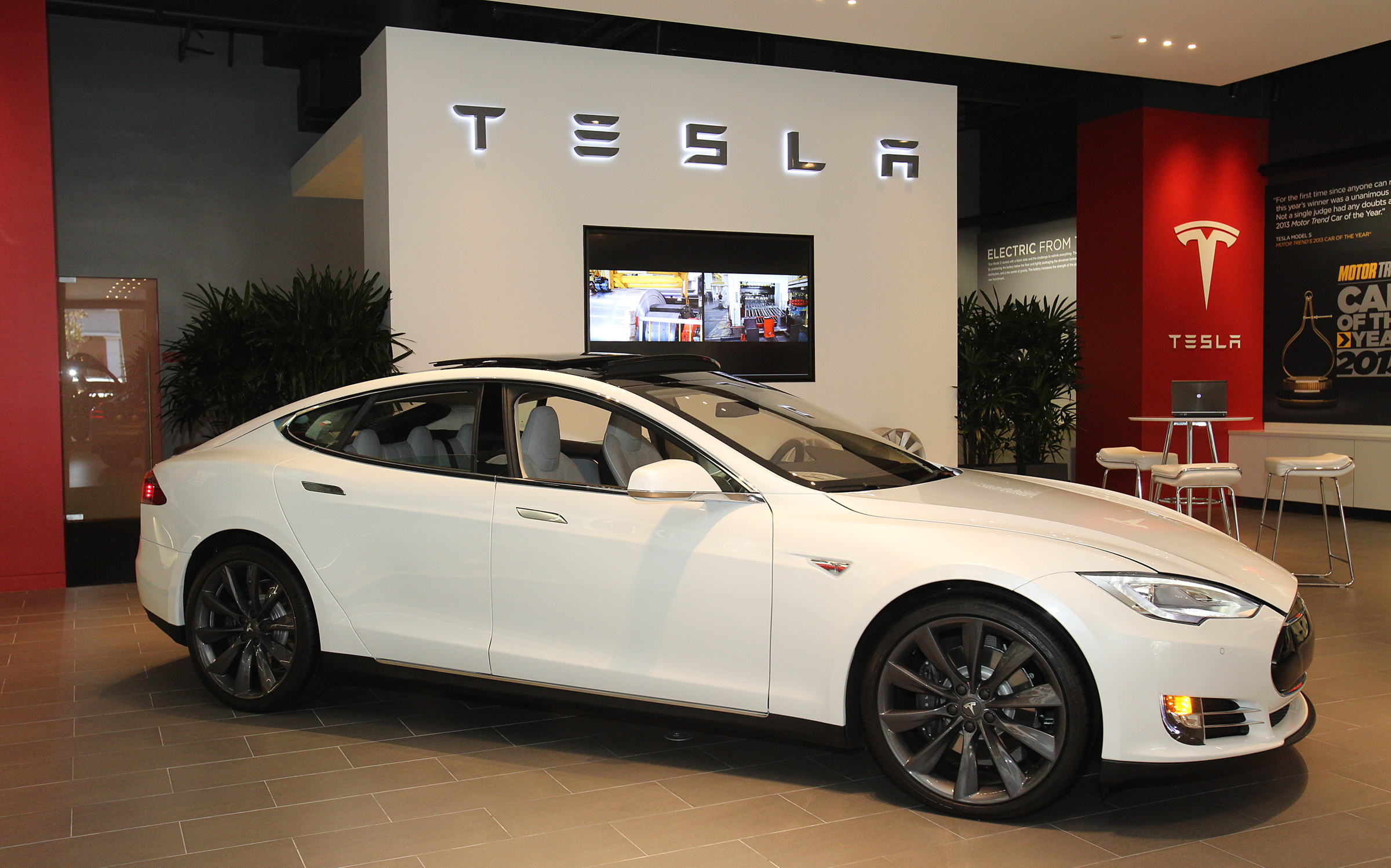Image of Tesla's car. Photo credit: Jacqueline Ramseyer/SVCN/Augu