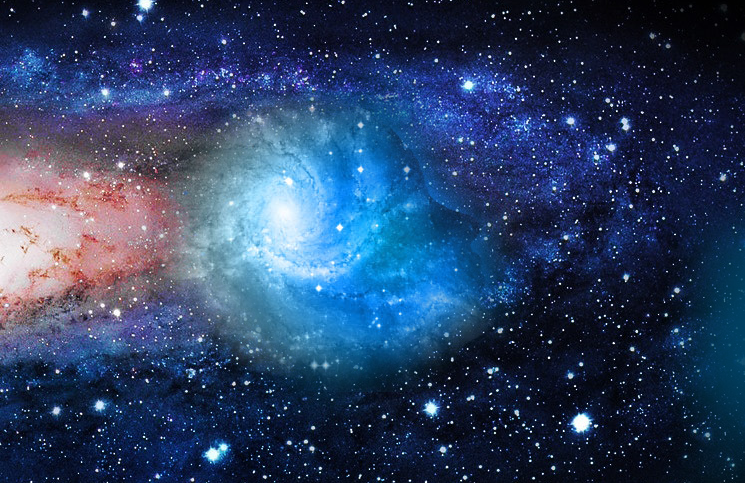 universe is not expanding as fast as it was previously thought