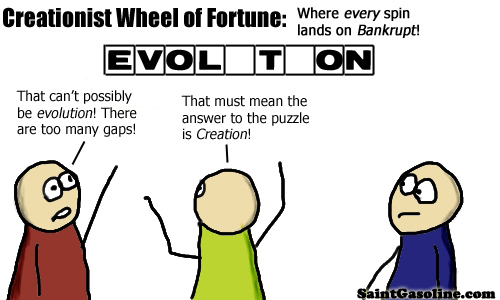 reationist wheel of fortune