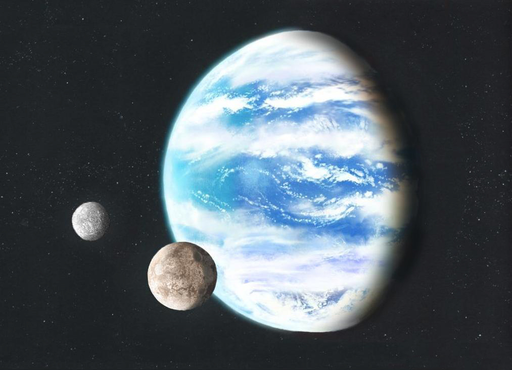 Waterworld With Moons