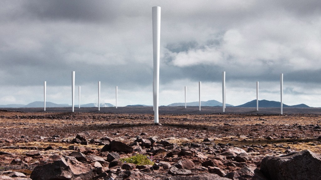 Vortex is a new kind of wind turbine being developed without any blades. Image via Vortex Bladeless