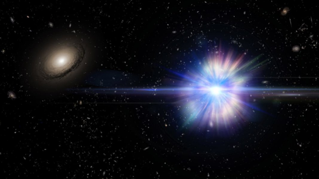 Isolated Star Explodes