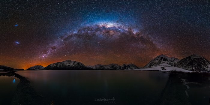 Milky Way over Lake Coleridge